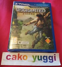UNCHARTED GOLDEN ABYSS PS VITA  NEUF SOUS BLISTER ABIME VERSION 100% FRANCAISE