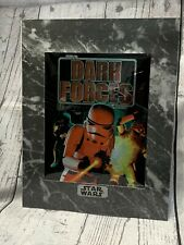Star Wars Rare Dark Forces chromart print with certificate 1995