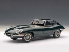 AUTOart Jaguar E-Type Coupe Series I 3.8 1961 Green 1:18 73612