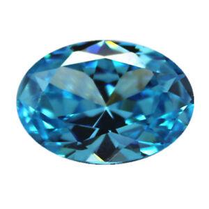 Beautiful Sea Blue Sapphire 10x12mm 7.66cts Oval Cut AAAAA VVS Loose Gemstone