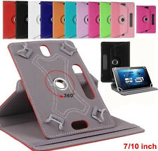 "Universal 360° Rotating Leather Case Cover ALL 10"" & 10.1"" LENOVO SAMSUNG KINDLE"
