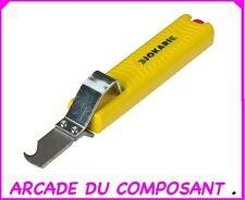1 DENUDEUR DE CABLE ELECTRIQUE JOKARI  - ELECTRICITE (ref 65124-1)