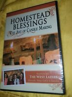 Homestead Blessings: The Art of Candle Making [DVD] New and Sealed