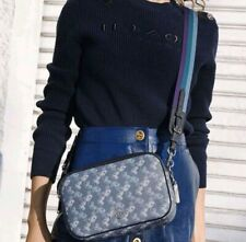 Coach Jes Crossbody with Horse and Carriage Print 91109 Indigo Pale Multi