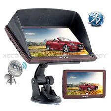 XGODY Car GPS 7 Inch SAT Navigation Bluetooth Lifetiime Map Updates Sunshade 8GB