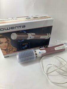 Rowenta CF9540 Brush Activ Premium Care rotierende Warmluftbürste, Weiß
