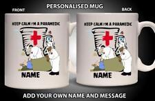 Personalised Mug PARAMEDIC DOCTOR FIRST RESPONSE Ceramic Cup Gift Him Her