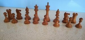 Staunton Pattern Complete Antique Chess Set-U.K.-Circa 1900