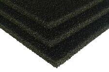 3 x Sheets Carbon Aquarium Fish Tank Filter / Sponge Foam Pond 12 '' x 9 ''