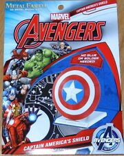 Captain America's Shield Marvel Avengers Metal Earth 3D Laser Cut Model Mms321