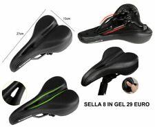 SELLA BICI CICLISMO BIKE MTB CYCLING GEL CONFORT Saddle Bike Seat Road SOFTGEL