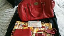 Samsonite..Black Label Slim Bowling Bag in Burgandy Red. Rare...and New Unused!!