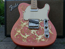1985 Fender Telecaster ROSA PAISLEY made in Japan with häussel pickup