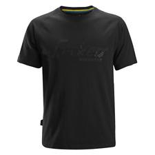 Snickers 2580 Logo T-Shirt - Black