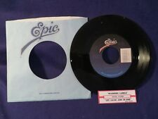 DOUG STONE Warning Labels/Left Leavin Going Gone 45 Record EPIC RECORDS
