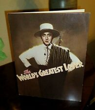 GENE WILDER - Premiere program - THE WORLD'S GREATEST LOVER - mint -1977