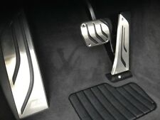 BMW Genuine M Performance Stainless Steel Pedals Covers Set 35002232278