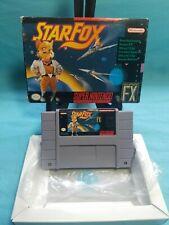 Starfox (Super Nintendo SNES) in Original Box Authentic