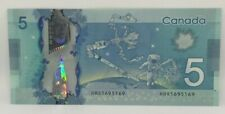 Canadian 2013 Repeater Note Frontiers issue Serial # HBR1695169