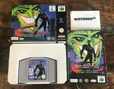 Batman of the Future Return of the Joker Nintendo 64 N64 - Boxed PAL CIB