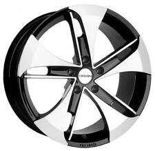 "18"" CARMANI 7 PUNCH BLACK POLISHED ALLOY WHEELS BRAND NEW 5x120 BMW RRP £750"