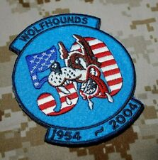 USAF Europe 32ND TFS F-15C WOLFHOUNDS SOESTERBERG 1954-2004 50-YEAR SQN PATCH