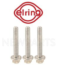 For Set of 3 Auto Trans Oil Pan Aluminum Stretch Bolts 6x40mm for W166 W205 W218