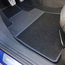 uniTEC Auto Fußmatten Set 4tlg Velour Schwarz BMW Audi Mercedes Opel Toyota Ford