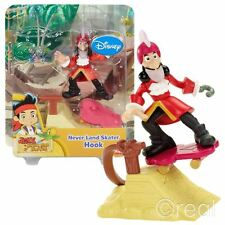 New Jake & The Neverland Pirates Captain Hook Skater Figure & Ramp Official