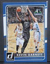 2015-16 Panini Donruss Kevin Garnett Minnesota Timberwolves Base Card #159