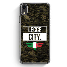Lecce City Camouflage Italien iPhone XR Hülle Cover Italienisch Italy Italia ...