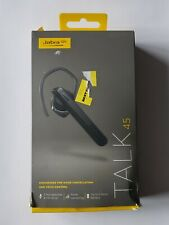 Unused Jabra Talk 45 Wireless Bluetooth Headset in Retail Packaging - BLACK