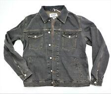 WRANGLER REGULAR FIT MEN'S DENIM JACKET NEW Desert Black COLOR XL 100% Cotton