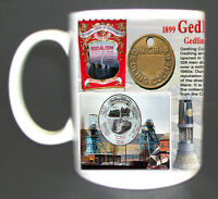 GEDLING COLLIERY COAL MINE MUG LIMITED EDITION GIFT MINER NOTTINGHAMSHIRE PIT