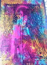 Celtic Angel tie dye scarf shawl hippy magic ethnic wall hanging tablecloth