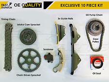 Para Honda Accord Cívico Crv Frv 2.2 CTDi Diesel Completo Kit De La Cadena De Distribución Tensor De