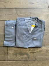 Figs scrubs women small 2 Piece- Sold as set-Rare-sold out-Heathered Denim- Nwt