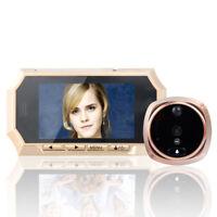 """4.3"""" TFT Screen Digital Peephole Door Viewer Camera Doorbell 160 Degree IR Night"""