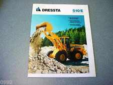 Dressta 510E Wheel Loader Brochure