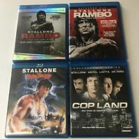 Sylvester Stallone Blue Ray Mini Collection
