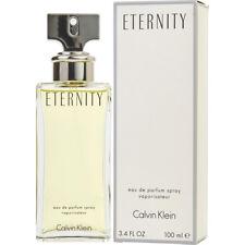 ETERNITY 100ml EDP SPRAY BY CALVIN KLEIN FOR WOMEN ----------------- NEW PERFUME