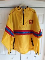 Tommy Hilfiger vtg 90's Cycling Light Jacket. Men's Size XL yellow spellout EUC