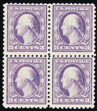 464, Mint F/VF NH/LH Scarce Block of Four Cat $460.00 - Stuart Katz