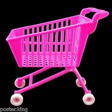 Pink Shopping Mall Cart 1/6 Barbie Blythe Doll's House Dollhouse Miniature