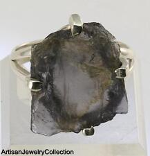 ROUGH IOLITE SIZE 10 RING 925 STERLING SILVER ARTISAN JEWELRY COLLECTION R732A