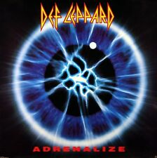 "DEF LEPPARD 1992 ADRENALIZE ""EYE"" PROMOTIONAL POSTER ORIGINAL"