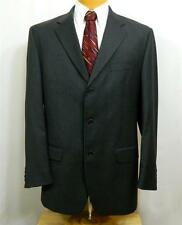 PRINCIPE, 3-BTN 2-PC SUIT, DARK GRAY, sz 40L-35W, EUC