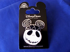 Disney * JACK SKELLINGTON with MICKEY EARS HAT * NBC Villain Trading Pin