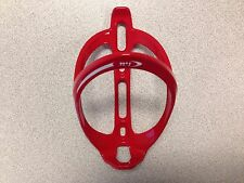 New Plastic MTB Road Bike Bicycle Water Bottle Cage Painted Red 1 Piece