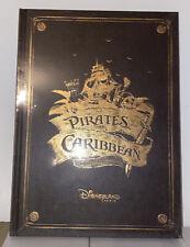 Livre Book Pirates Des Caraibes Disneyland Paris Francais English Neuf Disney